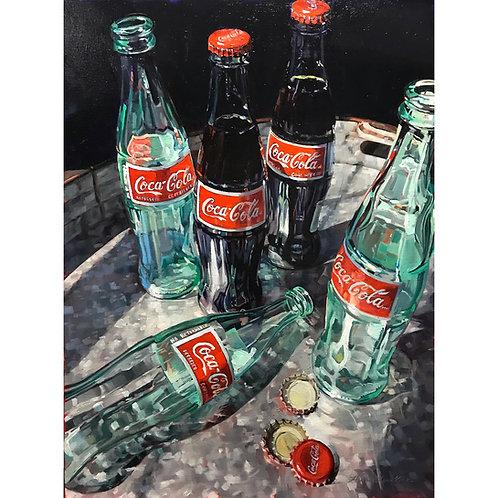 I'd Like To Buy The World A Coke (20x26 framed)