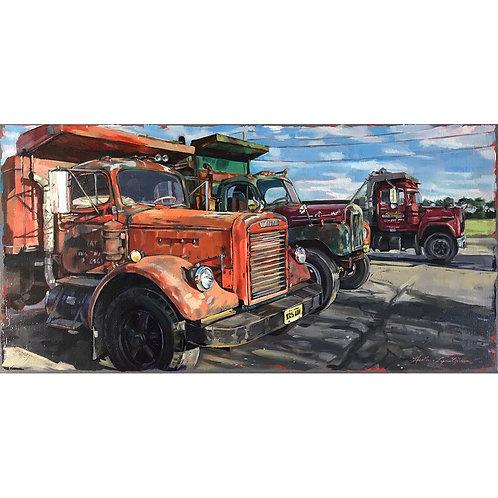Albert's Dump Trucks 24x12