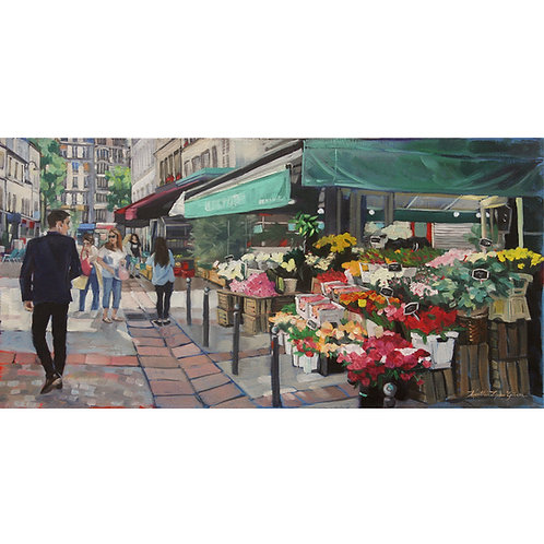 Should I Buy Her Flowers? 24x12