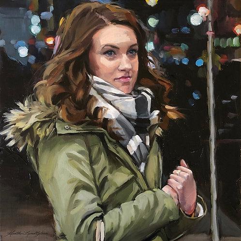 Olivia—commission (14x14)