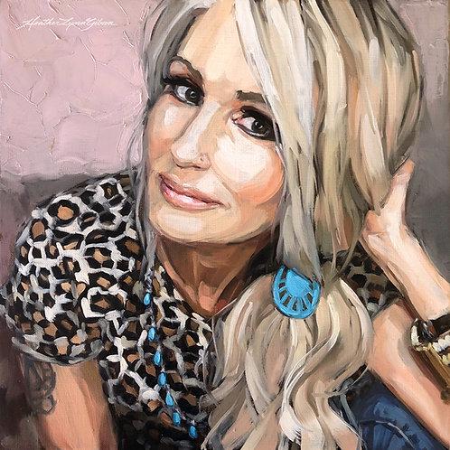 Kathy Caviness (12x12 canvas)