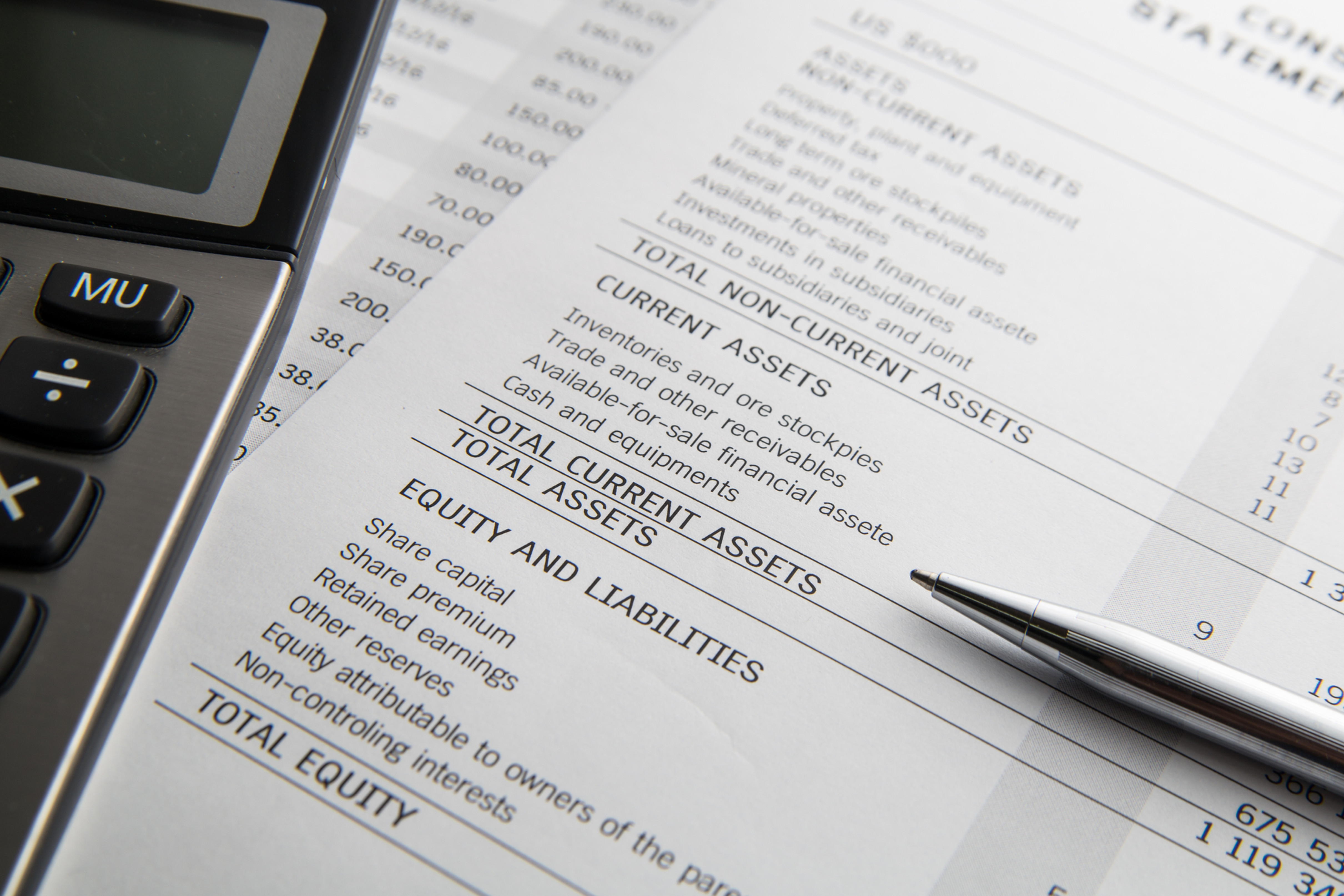 Company Financials & Tax Return