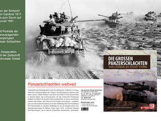 «Die grossen Panzerschlachten» – das Buch zum Vorzugspreis für Mitglieder