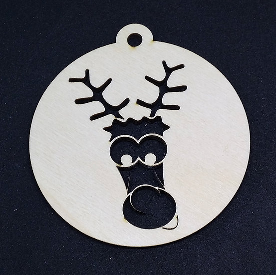 Rudolf - Christmas Bauble