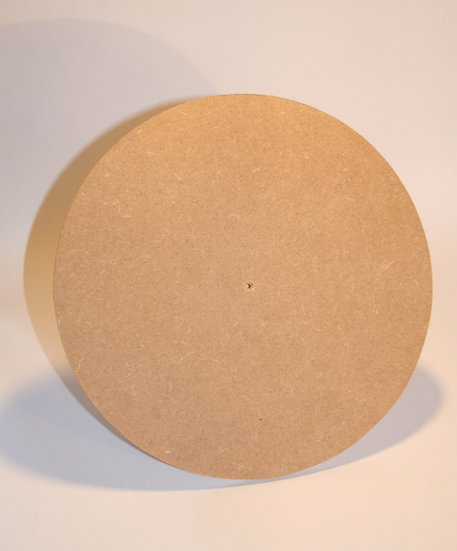 3mm MDF Clock Blank - Craft Crafting Round Circle Coaster