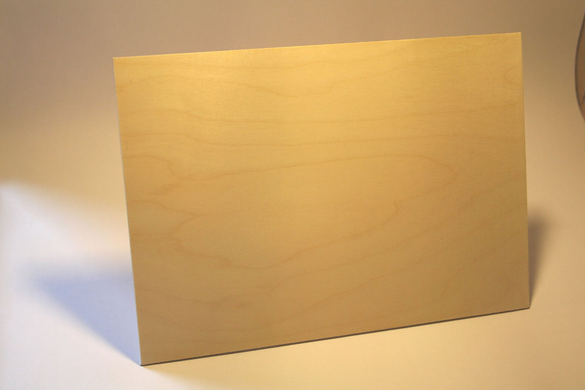 600 x 300 x 6mm Laser Plywood / Laser Ply (2 Pack)