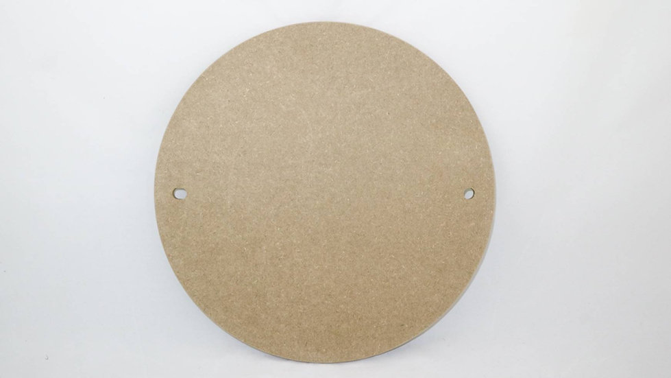 Premium MDF Wooden Pottery Wheel Throwing Batts with 10mm pin holes