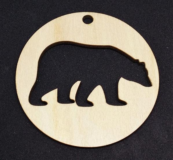 Polar Bear - Christmas Bauble