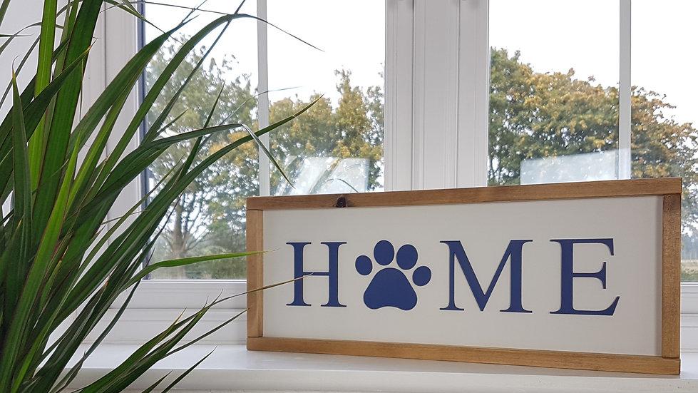 Home - Doggy framed Sign