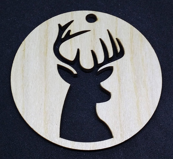 Reindeer / Stag - Christmas Bauble