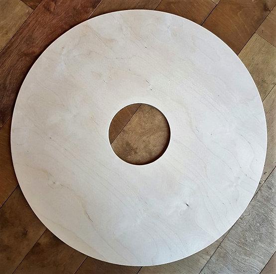 "18"" Round Viking Bucklers Shield - Laser cut from 9mm B/BB Birch Plywood"