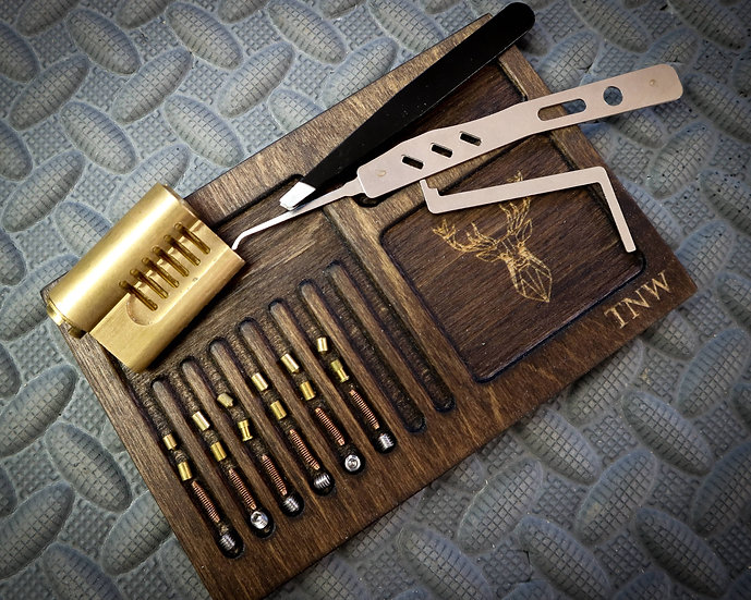 Lock sport picking repinning tray - Perfect for the budding locksmith or picker