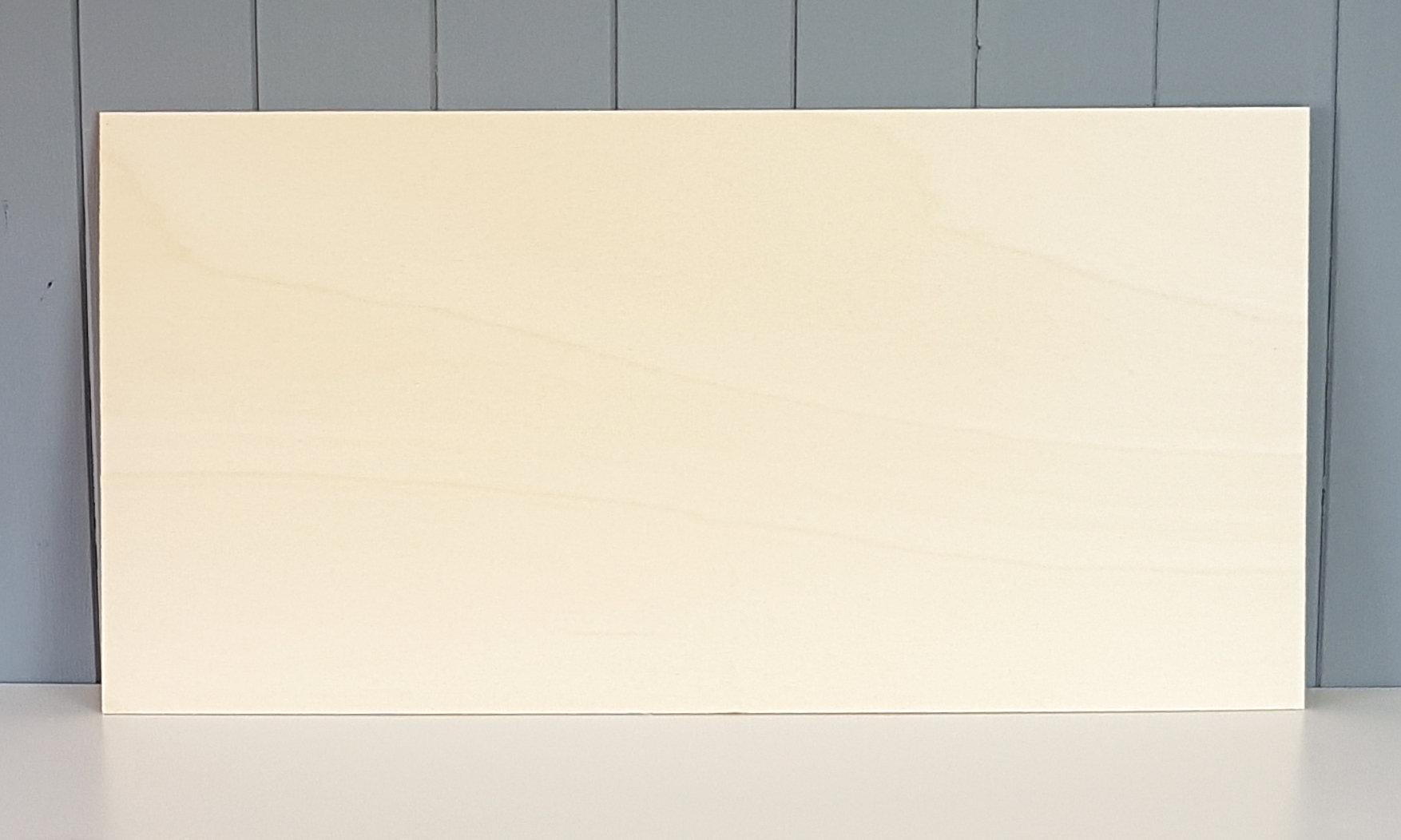 600mm x 300mm (2' x 1') 3mm Poplar Plywood Sheet AB/AB Grade