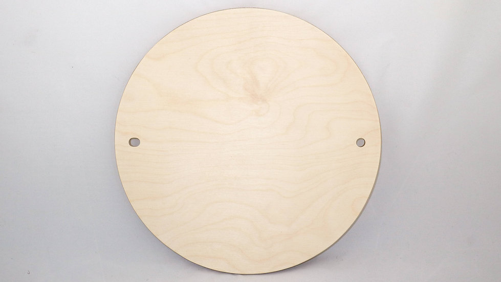 Birch Plywood Wooden Pottery Wheel Throwing Batts with 10mm pin holes