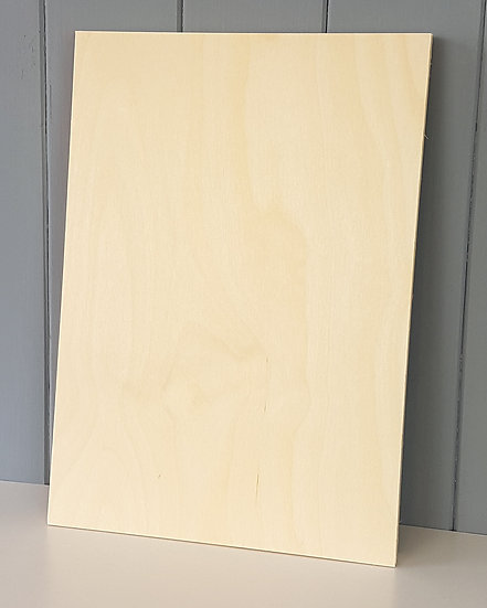 0.8mm BR/BR Grade Laser Birch Plywood - 400mm x 300mm Flexi Ply