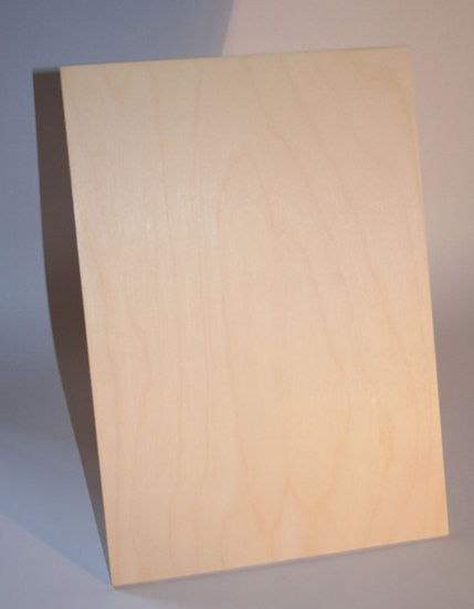 A4 5mm Laser Plywood / Laser Ply ( 5 Pack )
