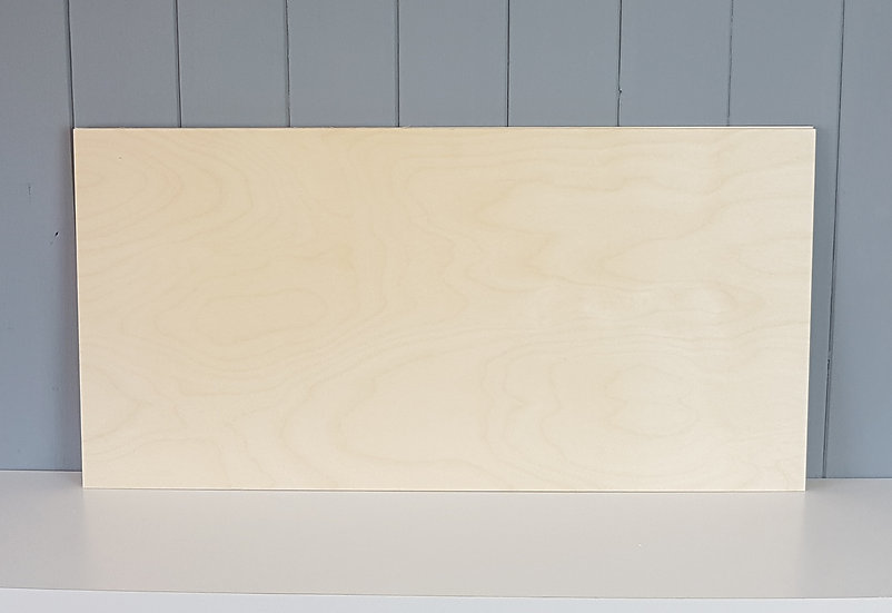 600 x 300 x 9mm - B/BB Grade Laser Birch Plywood / Ply Single and Multipack