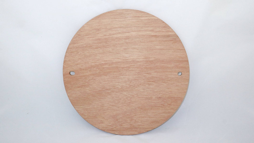 Marine Grade Plywood Wooden Pottery Wheel Throwing Batts with 10mm pin holes