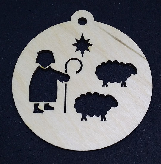 Shepherd - Christmas Bauble