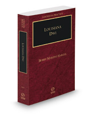 New Louisiana DWI/DUI Book is Published
