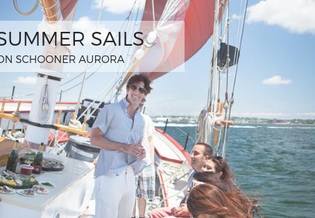 Summer Sails on Schooner Aurora