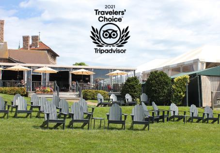 The Safari Room at OceanCliff Wins 2021 Tripadvisor Travelers' Choice Award
