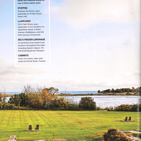Stone House featured in Coastal Living Magazine