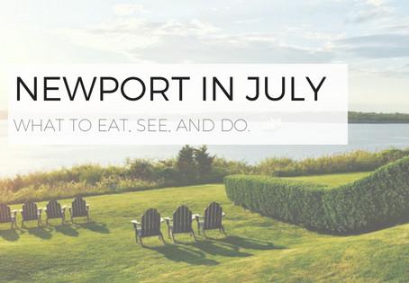 July in Newport