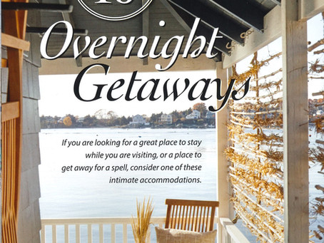 Stone House featured in Top 10 Overnight Getaways