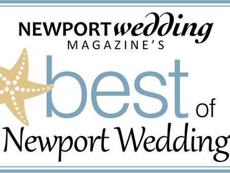Best of Newport Wedding Awards 2018