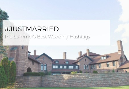 #JustMarried The Summer's Best Wedding Hashtags