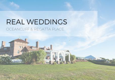 Real Weddings: OceanCliff & Regatta Place