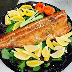 Smoked Salmon: Cold Platter
