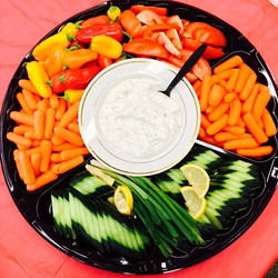 Baby Carrots, Cucumbers, Baby Bell Peppers