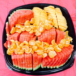 Watermelon, Tangerines, Cantalope