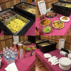 Business Breakfast catered by Bruce's Place