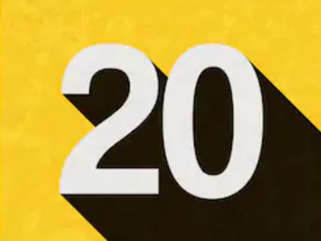 20 Club November 2020