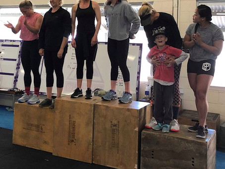 Weekly Workouts 2-8th September 2019