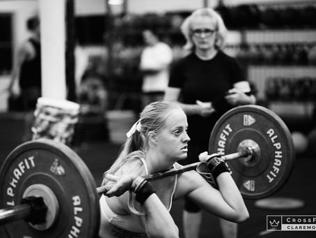 Weekly Workouts 16 - 22nd September