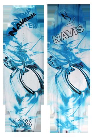 Wakeboard Navemãe 138 - Azul