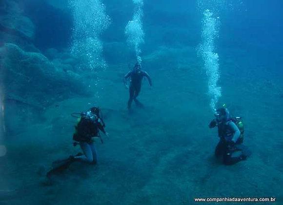 Mergulho Lagoa Salobão - Nobres