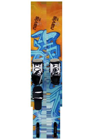 Esqui 168 - Laranja