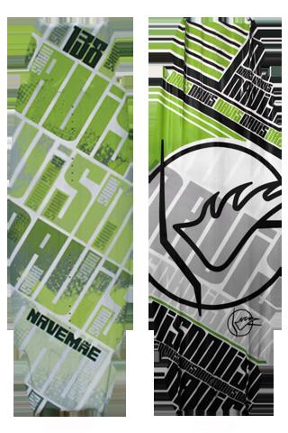 Wakeboard Navemãe 138 - Verde