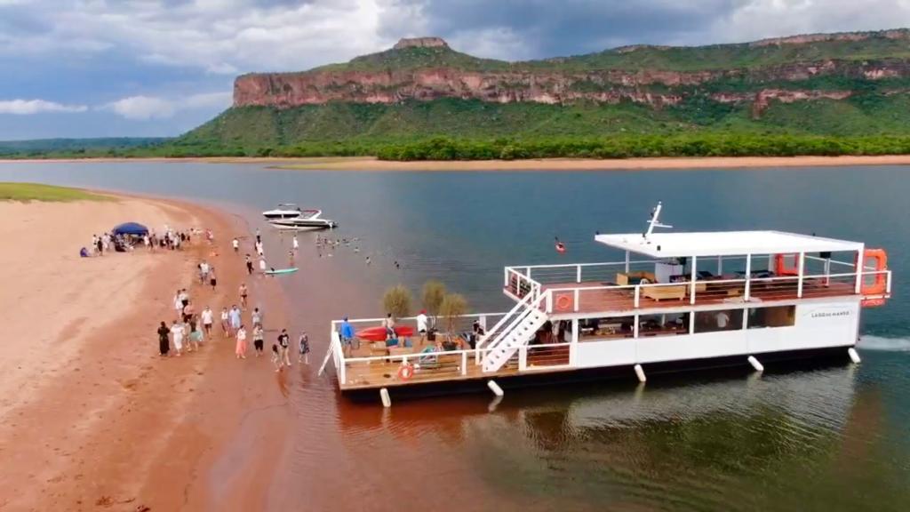 Chalana Lago do Manso - (6)