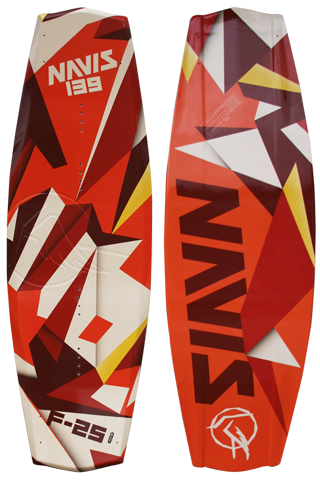 Wakeboard F-25 139 - Extra