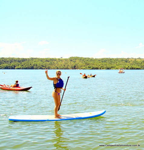 Aluguel de Caiaque e Stand Up Paddle - Malai Manso