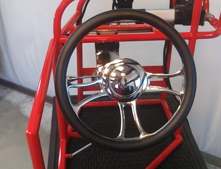 easy entry slide away steering kit
