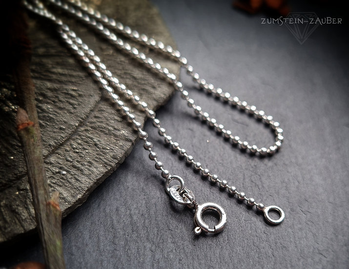 Silber Kugelkette