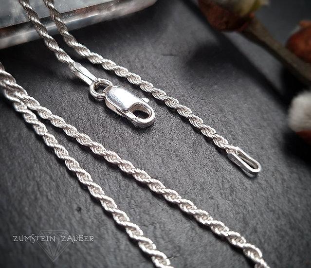 Silber Kordelkette 1.7 mm
