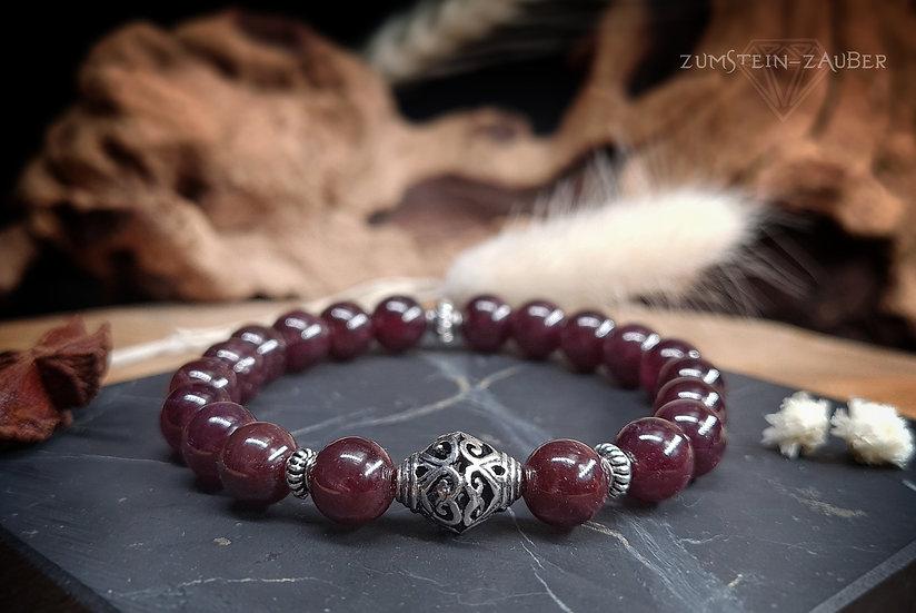 Stern Granat Armband
